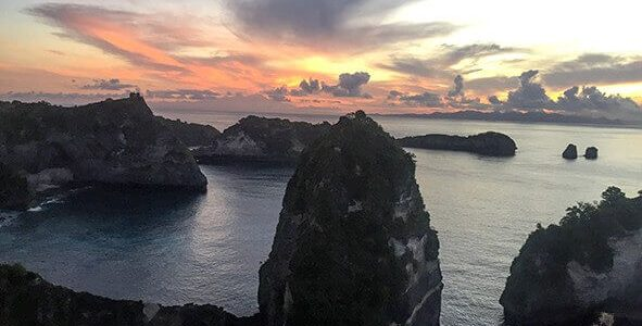 Sunrise and Sunset Trip to Penida